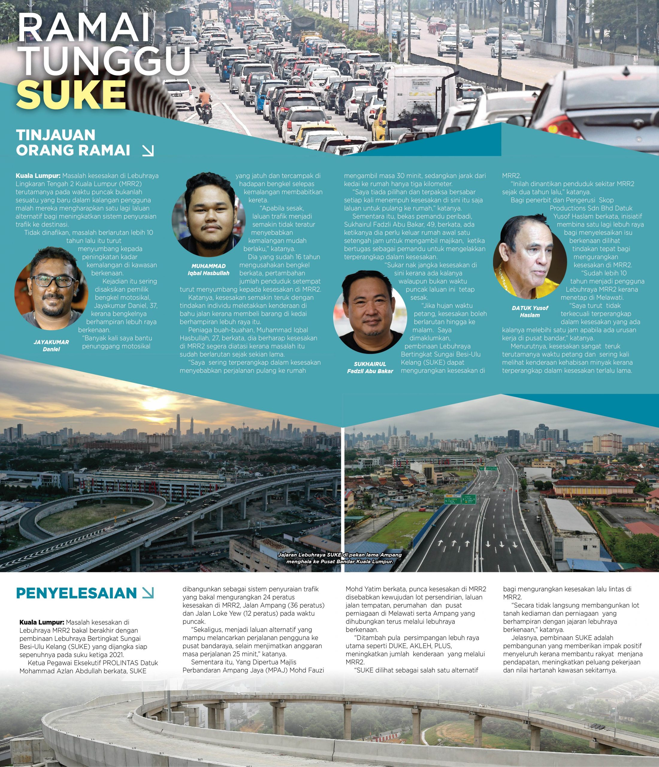 Harian Metro – Ramai Tunggu SUKE