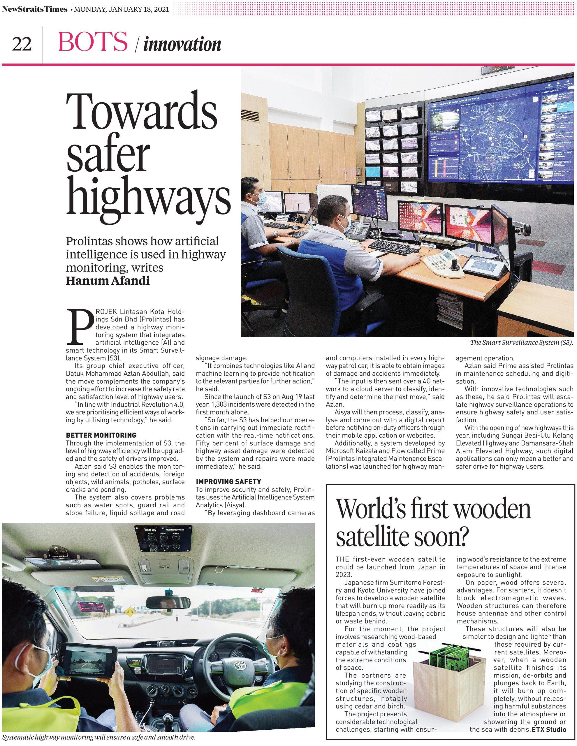 Towards Safer Highways