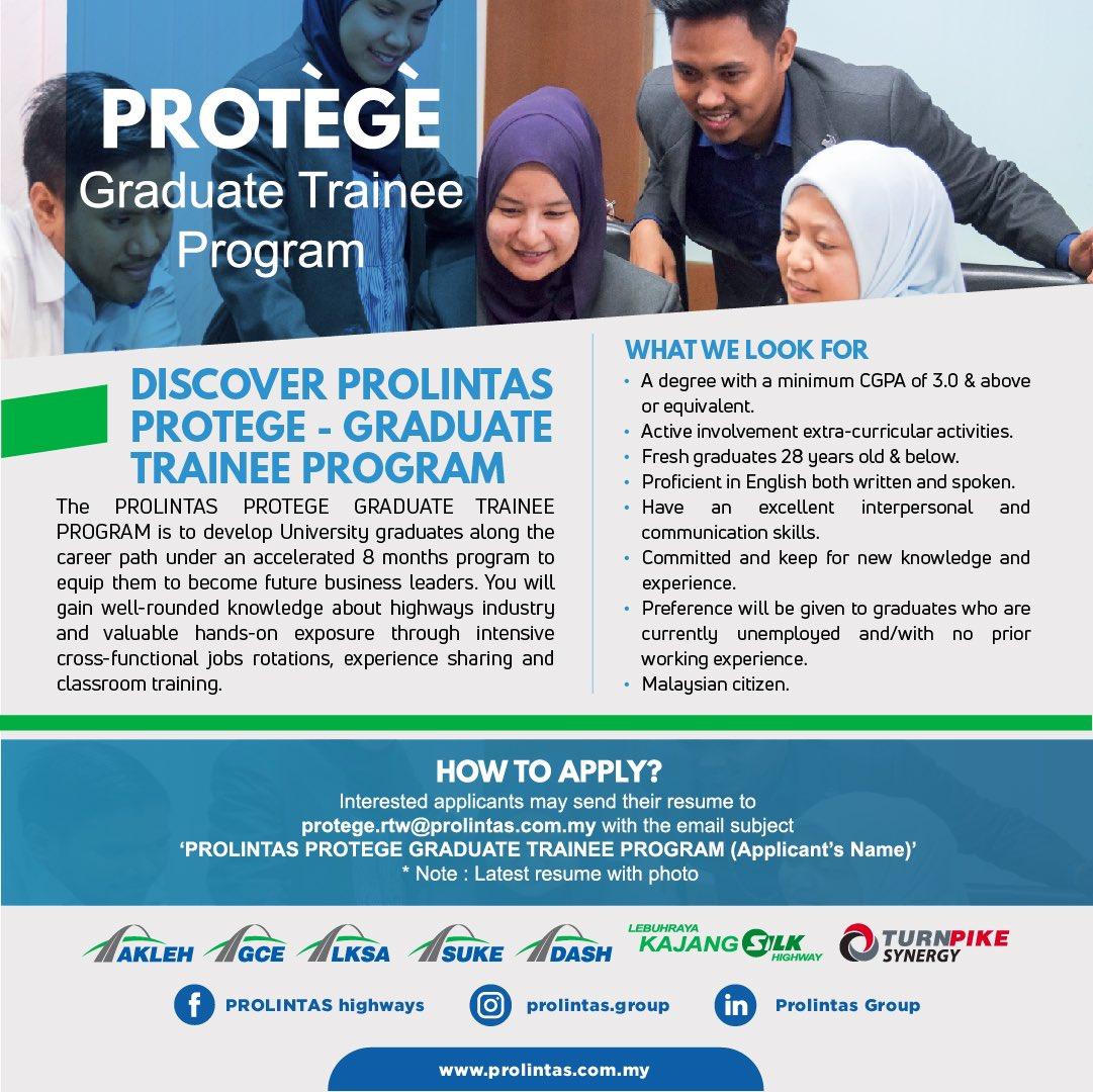 Protègè Graduate Trainee 2021