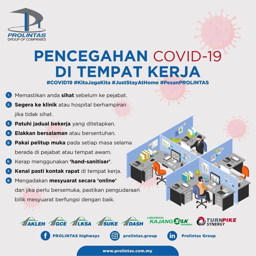 Pencegahan Covid di Tempat Kerja