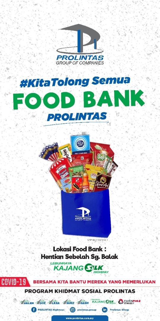 'Food Bank' Di Lebuh Raya Seliaan PROLINTAS