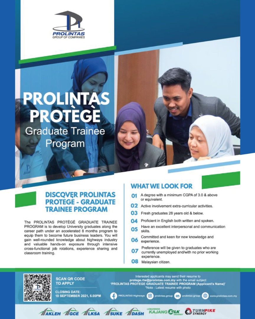 PROLINTAS Protégé Graduate Trainee Program